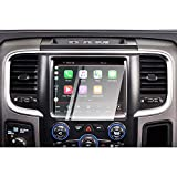 CDEFG Car Screen Protector Center Control Navigation Touch Screen Protector for 2013-2018 Dodge RAM 1500/2500/ 3500 Uconnect, Tempered Glass HD Scratch Resistance (2013-2018 RAM 8.4 inch)