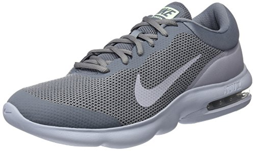 Nike Herren AIR MAX Advantage Laufschuhe, Grau (Gris Froid/Noir/gris Vapeur Vert/gris Loup), 41 EU