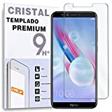 REY Protector de Pantalla para Huawei Honor 9 Lite, Cristal Vidrio Templado Premium