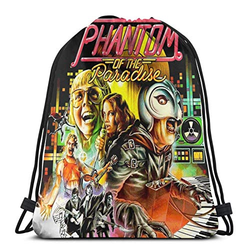 Phantom of The Paradise Sport Sackpack Sac à Dos avec Cordon de Serrage Sac de Sport