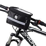 WOZINSKY Fahrrad Lenkertasche Fahrradtasche Tasche Lenker Wasserdicht Radtasche Touchscreen Tasche zum Radfahren 2L