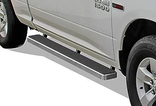 APS iBoard Running Boards 5 inches Custom Fit 2009-2018 Dodge Ram 1500 Quad Cab Pickup 4-Door (Nerf Bars Side Steps Side Bars)