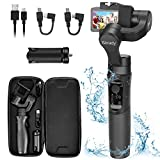 Hohem iSteady Pro 2 Gimbal Stabilizer Splash Proof 3Axis Gimbal Stabilizer for Osmo Action for GoPro Hero 7/6/5/4/3 SJCAM RX0 Inception Mode Action Camera Gimbal Stabilizer Handheld Gimble