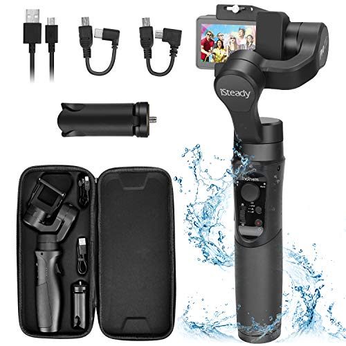 Hohem iSteady Pro 2 Water Splash Proof Gimbal Stabilizer for Osmo Action GoPro Hero 7/6/5/4/3...