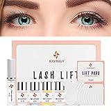 Lash Lift Kit - Buqikma Eyelash Perming Kit Full Eyelash Lift Kit Semi-Permanent Lash Curling Glue set Perming Wave for Salon