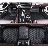 RVTYR For Volvo C30 S40 S60 S80 S60L S80L V40 V60 XC60 XC90 XC60 C70, Piso del Coche esteras de Accesorios de automóvil Car Styling (Color : All Black)
