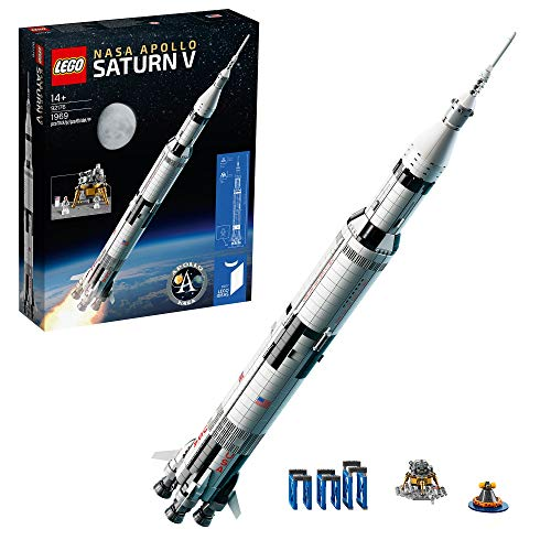 LEGO 92176 Ideas NASA Apollo Saturn V Fusée et véhicules spa