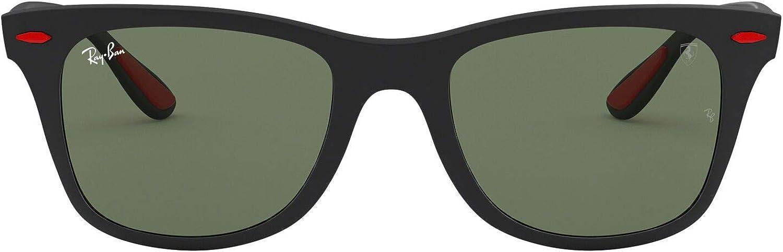 Ray-Ban Rb4195m Scuderia Ferrari Collection Wayfarer Square Sunglasses