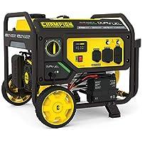 Champion Power Equipment 4750/3800-Watt Dual Fuel Portable Generator with Electric Start (Wheel Kit)