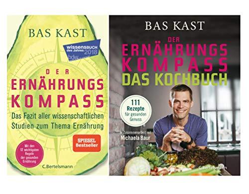 """""""Der Ernährungskompass""""-Set: Buch + Kochbuch"""