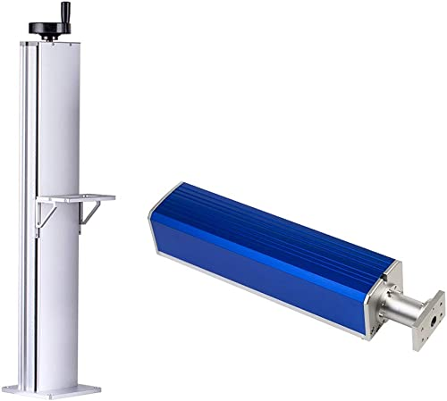 wholesale Cloudray Fiber Lift Table Height 500 2021 & 800mm with Fiber Path sale Set DIY 1064nm Fiber Marking Part (500mm) outlet sale