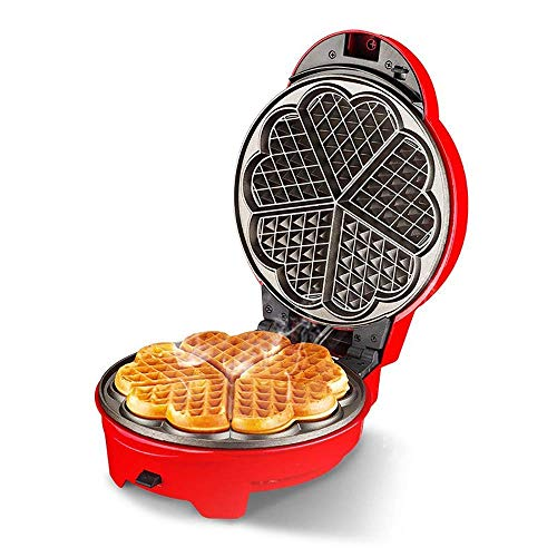 Sandwich Waffle Maker,Household Cake Machine Waffle Machine Automatic Electric Baking Pan Multi-Function Detachable Baking Non-Stick Coating Easy to Clean Can Make Cakes