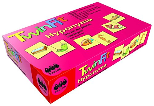 TwinFit Hyponyma - Was hat den gleichen Oberbegriff?: TwinFit - Eine Spieleserie zum Üben von Weltwissen, Wortschatzstrukturen und Satzbau: Eine ... von Wortschatz, Satzbau und Weltwissen