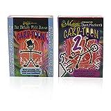 SUMAG Card-Toon #1 and #2 Card Magic Tricks Animation CardToon Deck Magic Close up Illusions Gimmick Mentalism Playing Card Magic