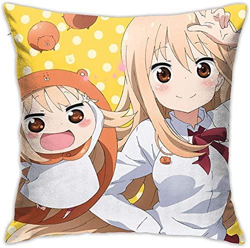Fundas de almohada Anime The Pro-mised Never-Land Funda de almohada cuadrada Cojín Decorativo Fundas para Sofá Cama-Cc33