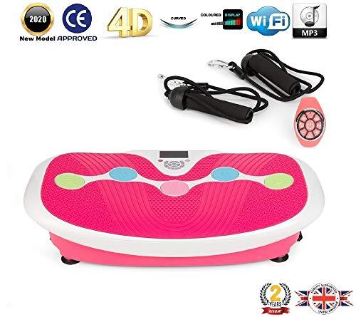 GLOBAL RELAX ZEN SHAPER® PLUS Vibration plate - Pink (2020 new model)...