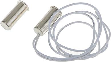 Blesiya Verzonken Magnetische NC Gesloten Raam Deur Magneet Schakelaar Huisbeveiliging - C-1025 Zilver