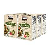 EXPLORE CUISINE Organic Mung Bean Rotini (6 Pack) - 8 oz - Easy to Make Gluten-Free Pasta - High in Plant-Based Protein - USDA Certified Organic, Non-GMO, Vegan, Kosher - 24 Total Servings