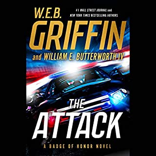 The Attack audiobook cover art