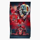 Amelius German One Red Formula Vettel Germany Ferrari