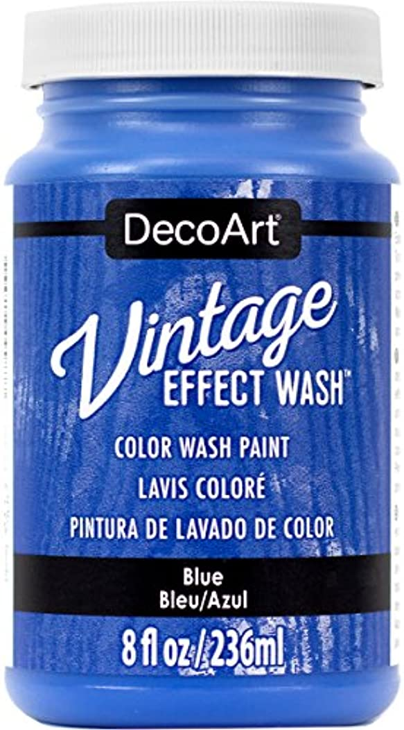 DecoArt Vintage Effect Wash 8oz, Blue