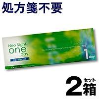 ネオサイトワンデー アクアモイスト 1箱30枚入 ×2箱 【BC】8.6 【PWR】-1.50
