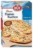 RUF Flamm-Kuchen backfertig in 15 Minuten mit Gewürz-Mischung, 8er Pack (8 x 390 g)