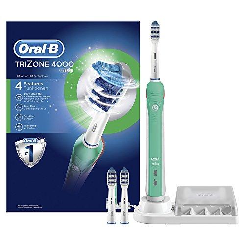 Oral-B TriZone 4000 - Cepillo de dientes eléctrico recargable