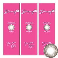 Dreamy ドリーミー ワンデー 【PWR】-6.00 【COLOR】ベビーブラウン 10枚入 3箱