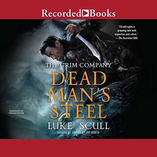 Dead Man's Steel audiobook cover art
