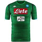 SSC Napoli Camiseta de portero local réplica verde fantasía, verde , xl