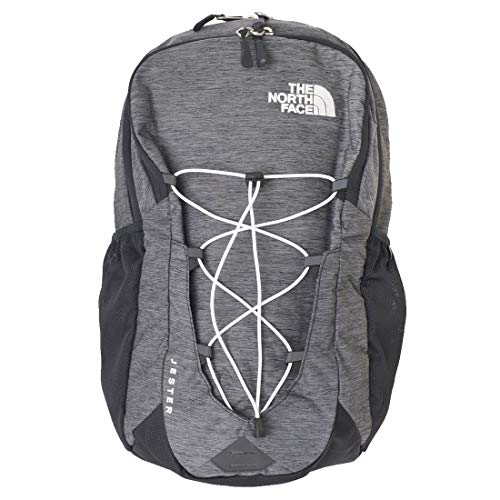 The North Face Jester Backpack, TNF Black Heather/TNF White, One Size
