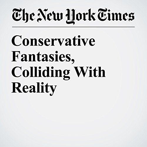 Conservative Fantasies, Colliding With Reality copertina