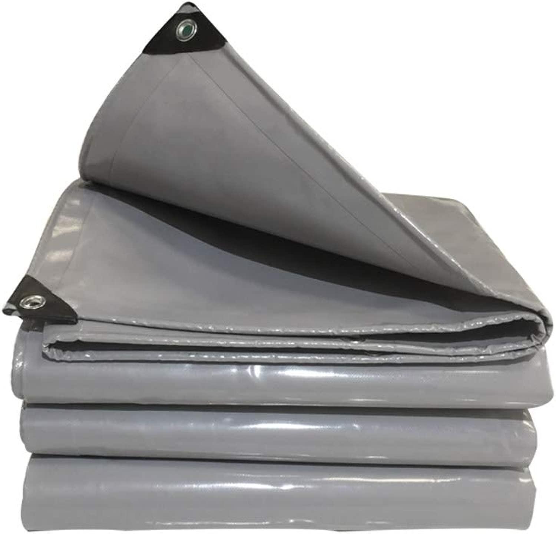 防水ターポリン、頑丈なポリエチレンタープ、グランドシート屋外用キャンプカバー、アイレット付き - 600g /m2 (Color : 6X8M)