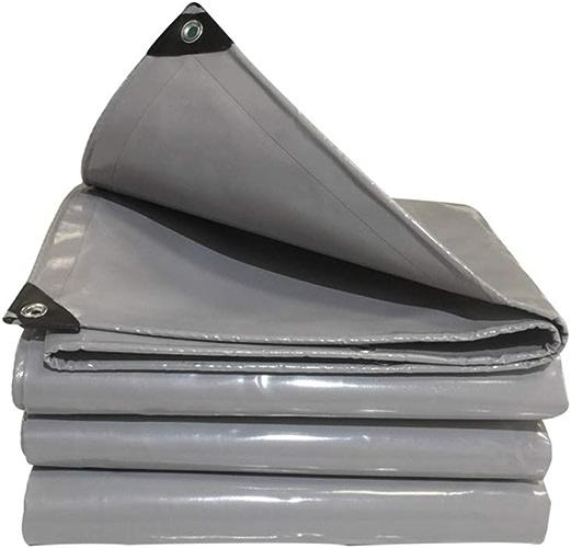 Baches ZR Imperméable en Polyéthylène Robuste,Couverture de Camping en Plein Air avec Oeillets 600g m2 -équipement de Plein air (Taille   3X 6m)