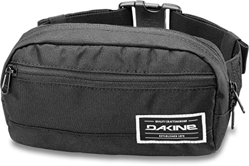 Dakine Mixte Adulte, Rad Hip Pack Sac Banane, Noir, 23 cm