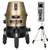 タジマ(Tajima) レーザー墨出し器 GT5Z-Ni 三脚セット 矩十字・横 GT5Z-NISET