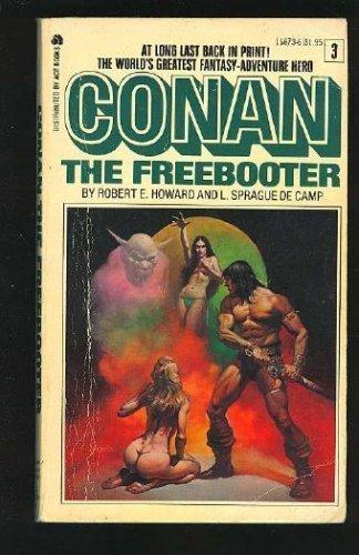 Conan the Freebooter (Conan #3) 0441118631 Book Cover