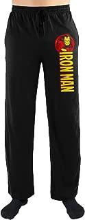 Marvel Comics Iron Man Print Men's Sleepwear Sleep Lounge Pants Gift