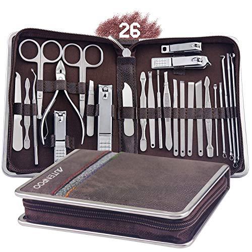 Kit de manicura de AUTENPOO de 26 piezas
