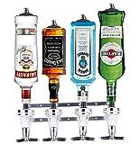 Barbarian 4 Flaschenoptik für Spirituosen - Bar Butler **mit kostenlosem Wandflaschenöffner** 30ml...