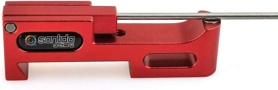 SHARROW Bogenschie/ßen Clicker Recurve Bogen Clicker Aluminium Magnetische Klicker Pfeil Zubeh/ör