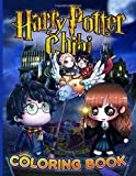 Harry Potter Chibi Coloring Book: Hogwarts Magical Creatures Coloring Books for Adults and Kids Girls Chibi Fans