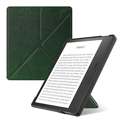 ATiC Kindle Oasis (Newモデル) 2017用 折り紙カバー スタンド式 軽量保護ケース (オートスリープ機能付き...