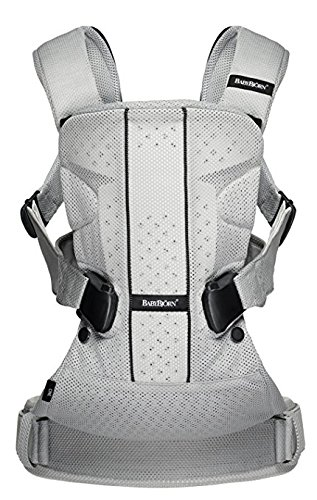 BABYBJORN Baby Carrier One - Silver, Mesh