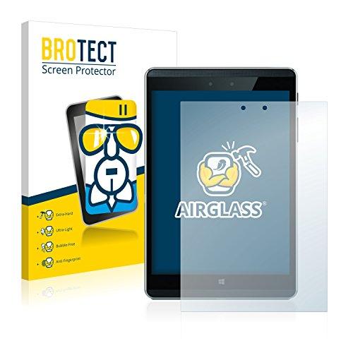 BROTECT Panzerglas Schutzfolie kompatibel mit HP Pro Tablet 608 G1 - AirGlass, extrem Kratzfest, Anti-Fingerprint, Ultra-transparent