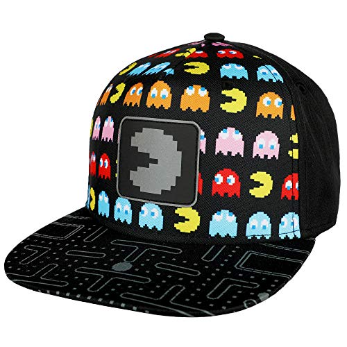 Youth Pac-Man Snapback Baseball Hat, Officialy Licensed