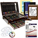 162-Piece US Art Supply Deluxe Mega Wood Box