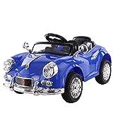 YZSL Kinder Elektro-Auto, Elektro-Auto-Baby-Fernbedienung Kinderdoppelantrieb Sitzt Spielzeugauto Geeignet Für 0-3 Jahre Alte Männliche Und Weibliche Babys,Double Drive Blue