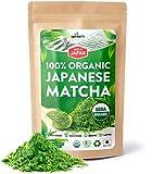 AprikaLife Organic Japanese Matcha Green Tea Powder – USDA & JAS Organic - Authentic Japanese Origin - Premium Culinary Grade - [100g Value Size]…